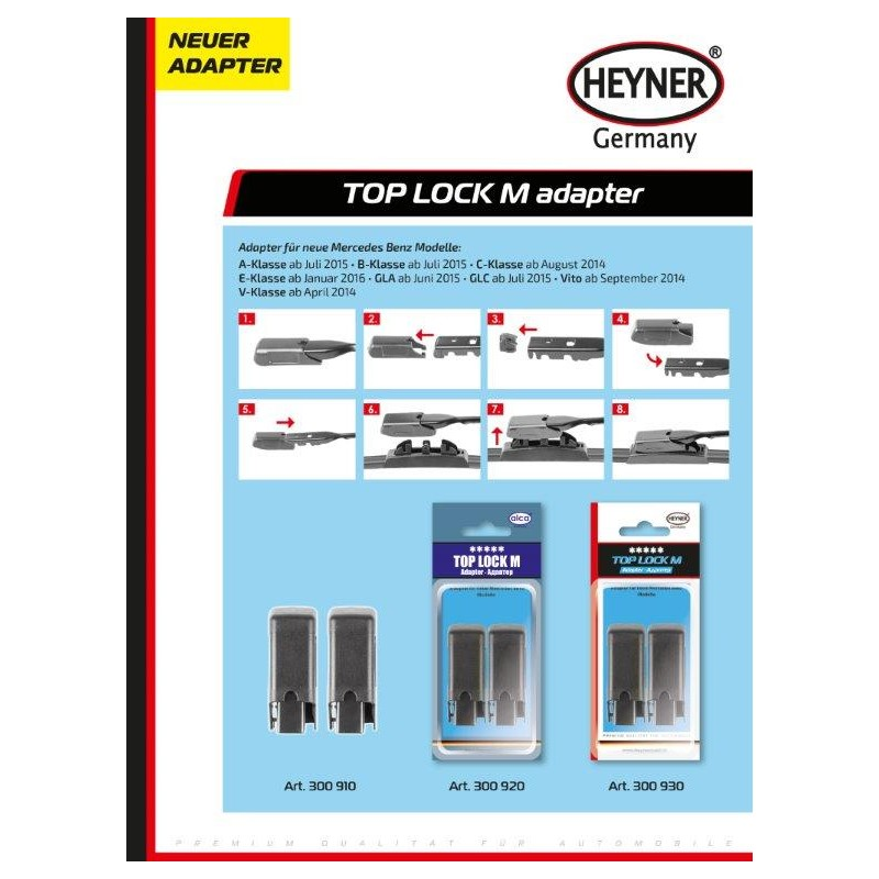 Adaptery Top Lock M