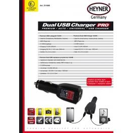 Ładowarka 2 X USB 12 / 24 V