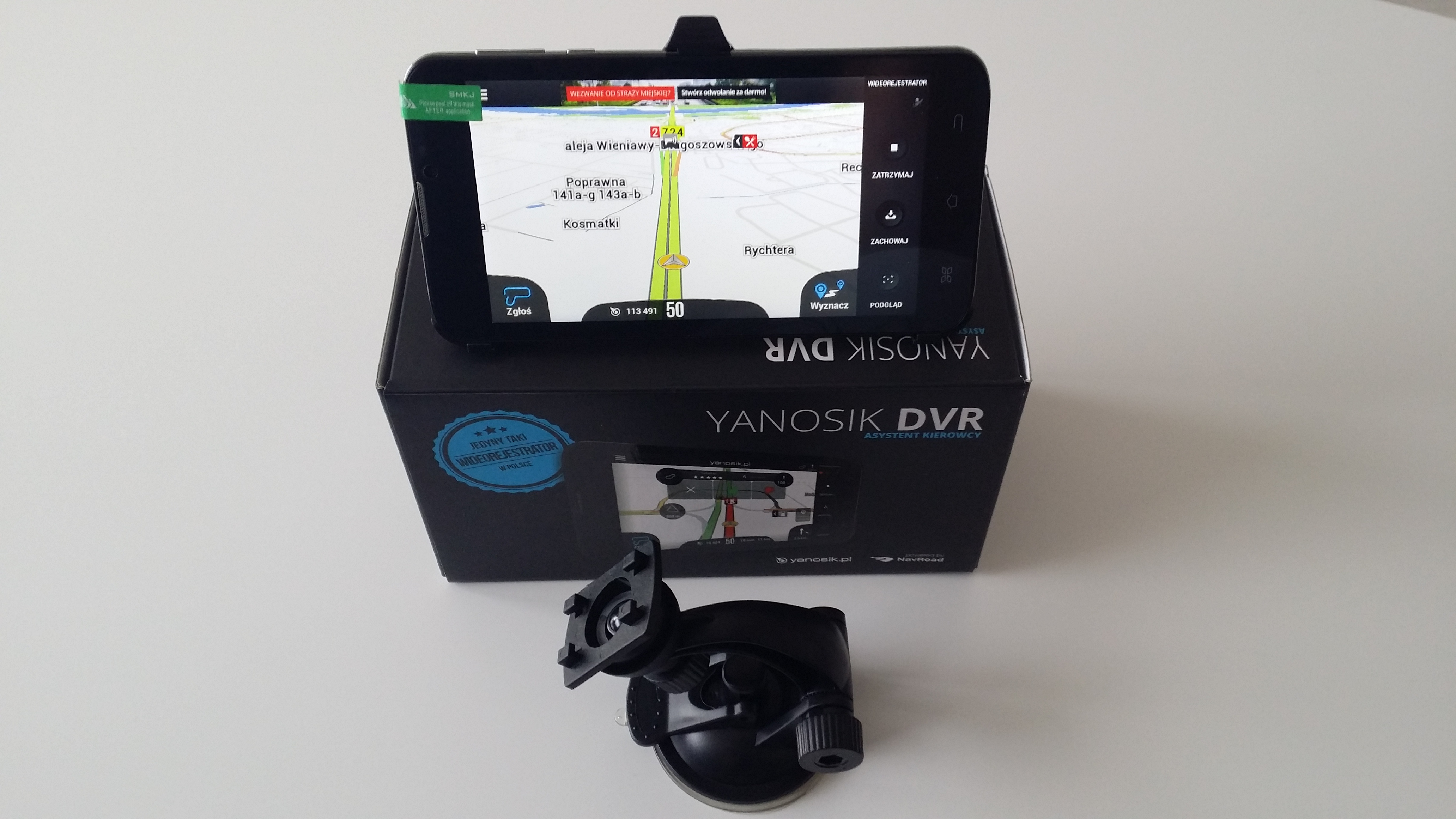 Yanosik DVR zestaw