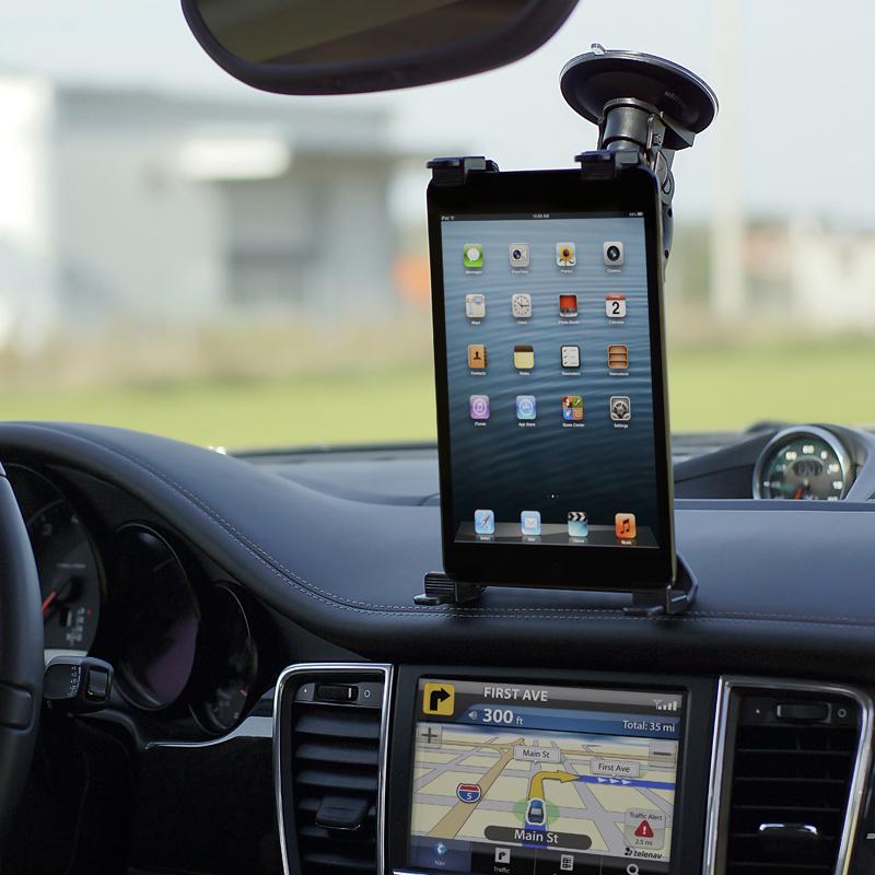 Uniwersalny uchwyt samochodowy na tablet
