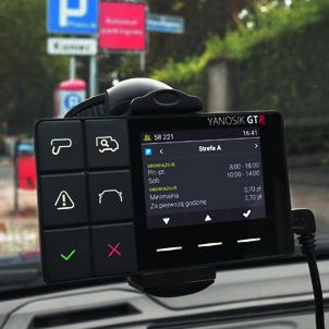 Zestaw startowy Yanosik GTR - Asystent kierowcy i legalny antyradar