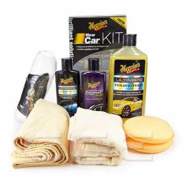 Zestaw Meguiar's New Car Kit