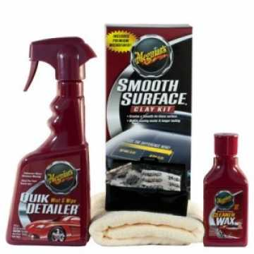 Zestaw Meguiar's Smooth Surface Clay Kit